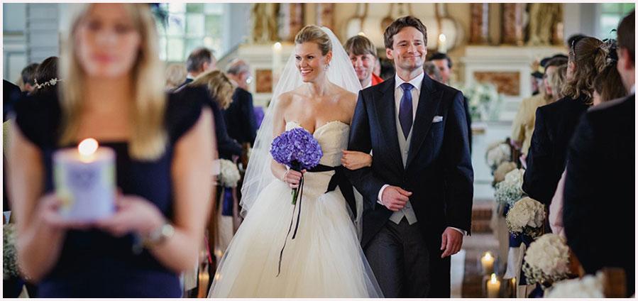 Einzug Braut Kirche